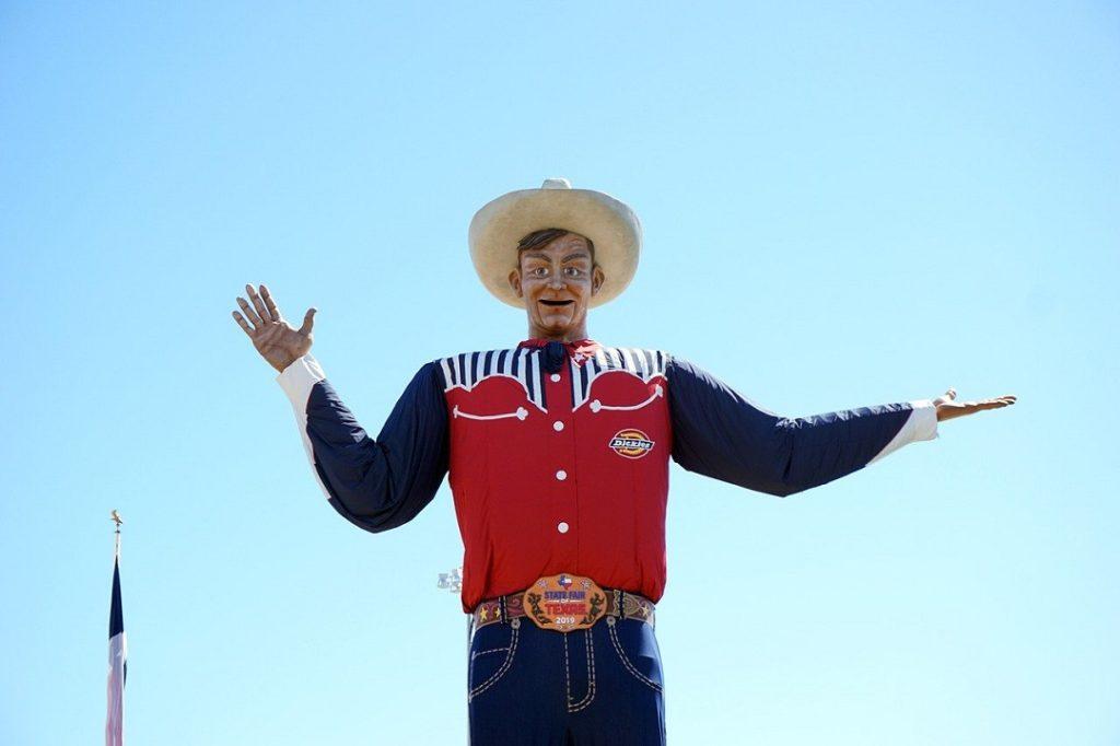 Texas State Fair Statue of Big Tex