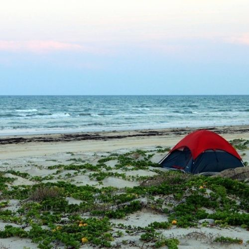 Best Places to Camp on the Beach in Texas